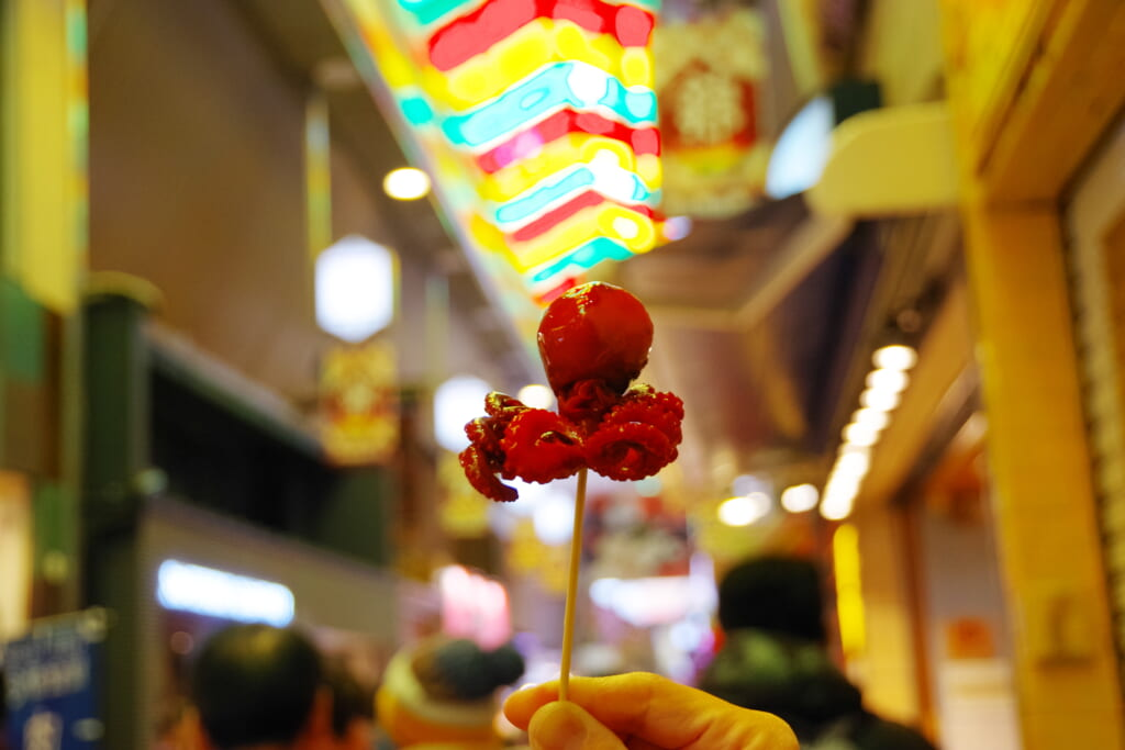 錦市場 たこ (1)